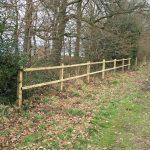 Glebe land fencing