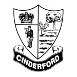 Cinderford Town Council logo crest